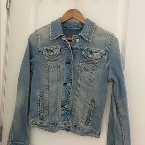 Abercrombie and Fitch Jean Jacket with studs